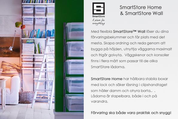 Plastbackar från SmartStore Hammarplast förvara se förvaring