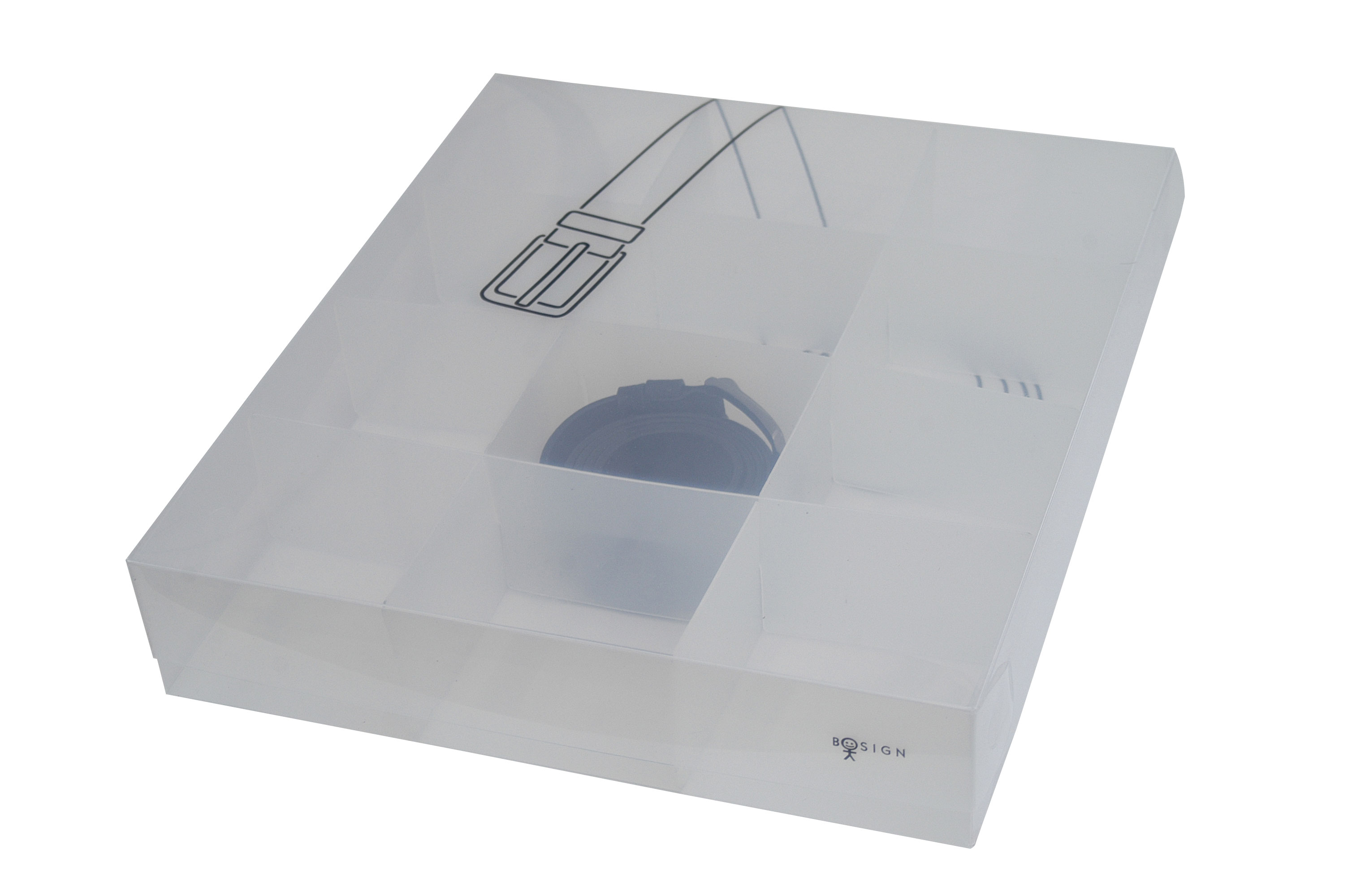 Box för skärp& bälten, 12 fack
