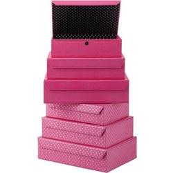 Låda, magnetlås, Pink Star