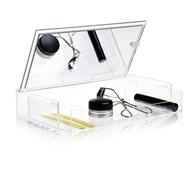 Klar låda med Spegel - Nomess