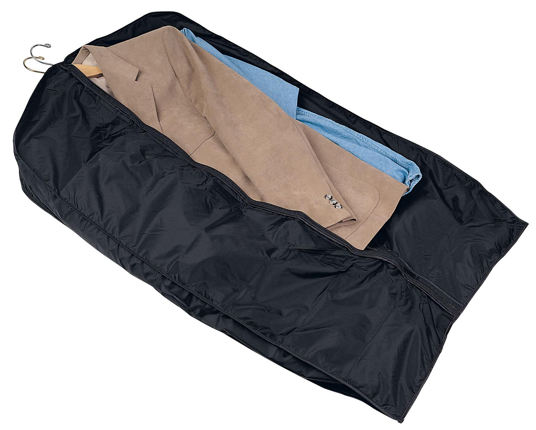 Resegarderderob med fickor, Praktiskt förvaring av kläder på resa, förvara se